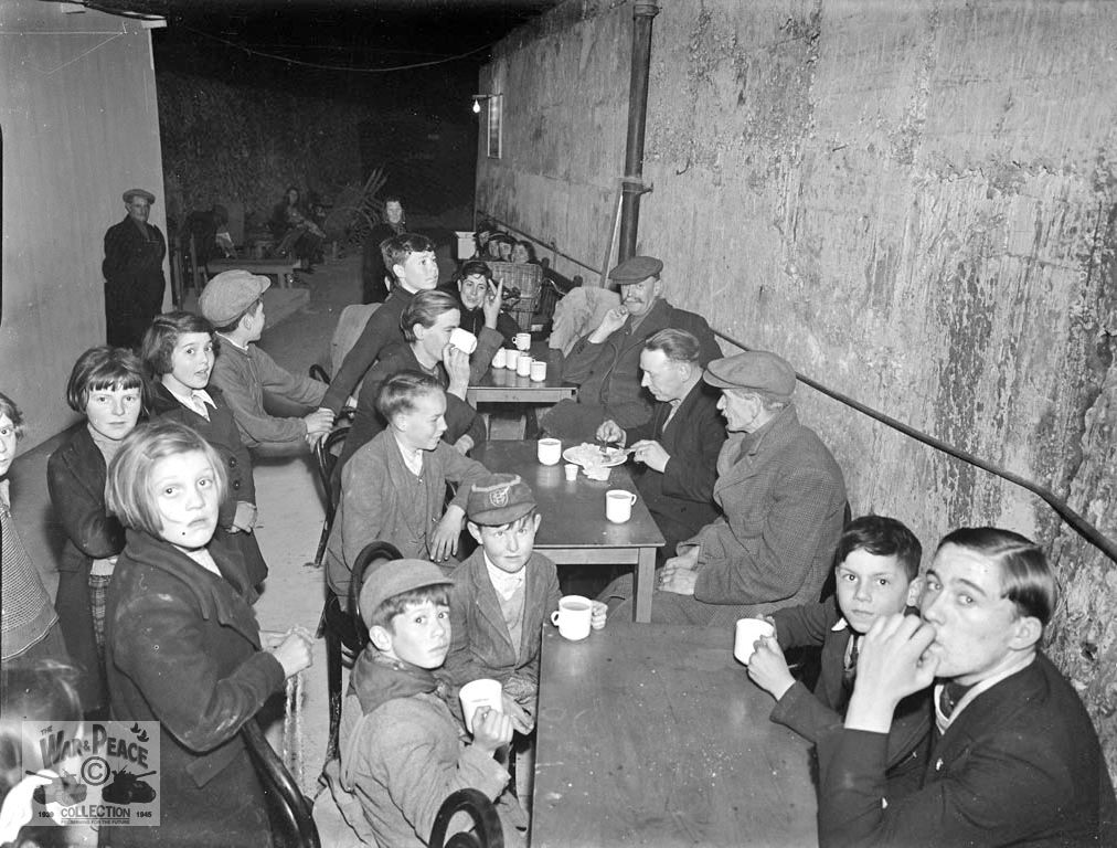 Sheltering from air raids in the Ramsgate Tunnels system
