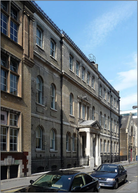 Finsbury Technical College, where Herbert William Sewell was educated.