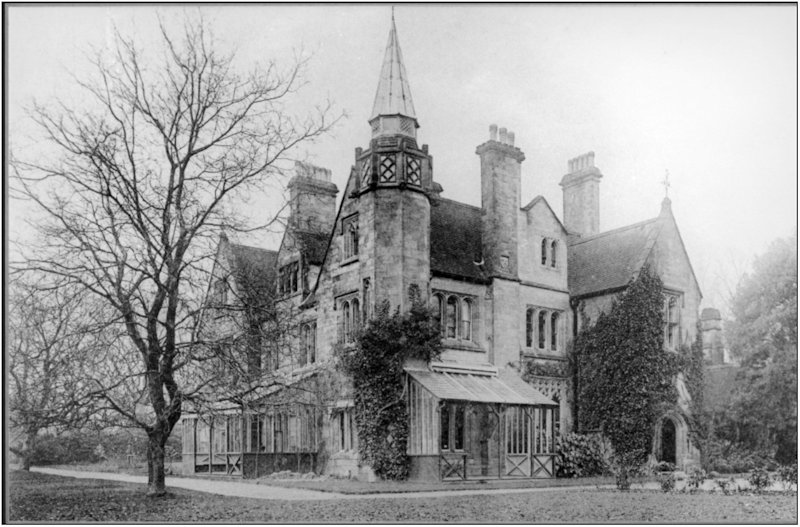 Welkin, the house Francis Sewell built for himself in Lindfield