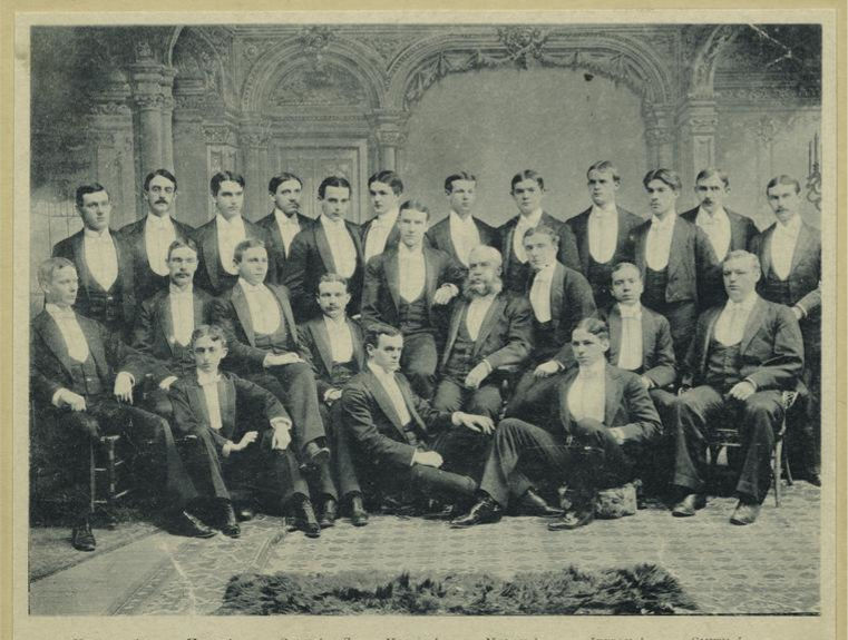Yale Graduates and Staff 1893