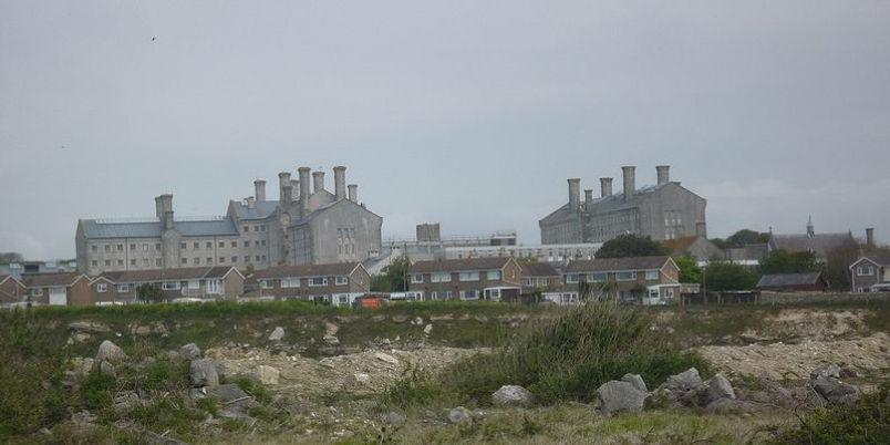 Portland Prison, Dorset. Now a Young Offenders Unit
