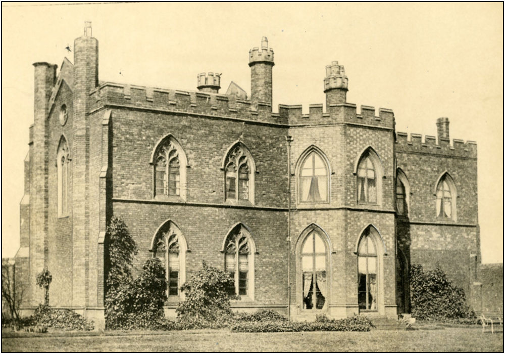 Toll End Hall, Tipton, home to James and Caroline Solly. With kind permission of  Smethwick Library Community History and Archive Service