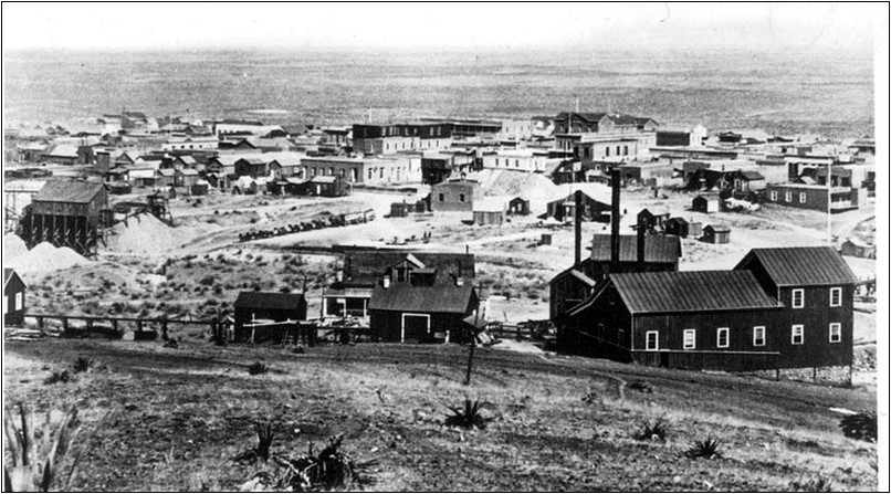 The town of Tombstone, about 1881