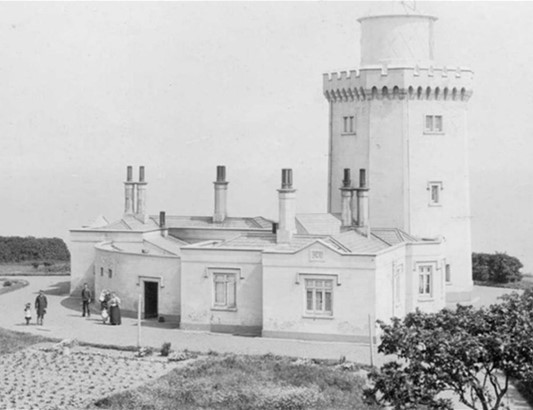 Upper South Foreland Light from about 1900
